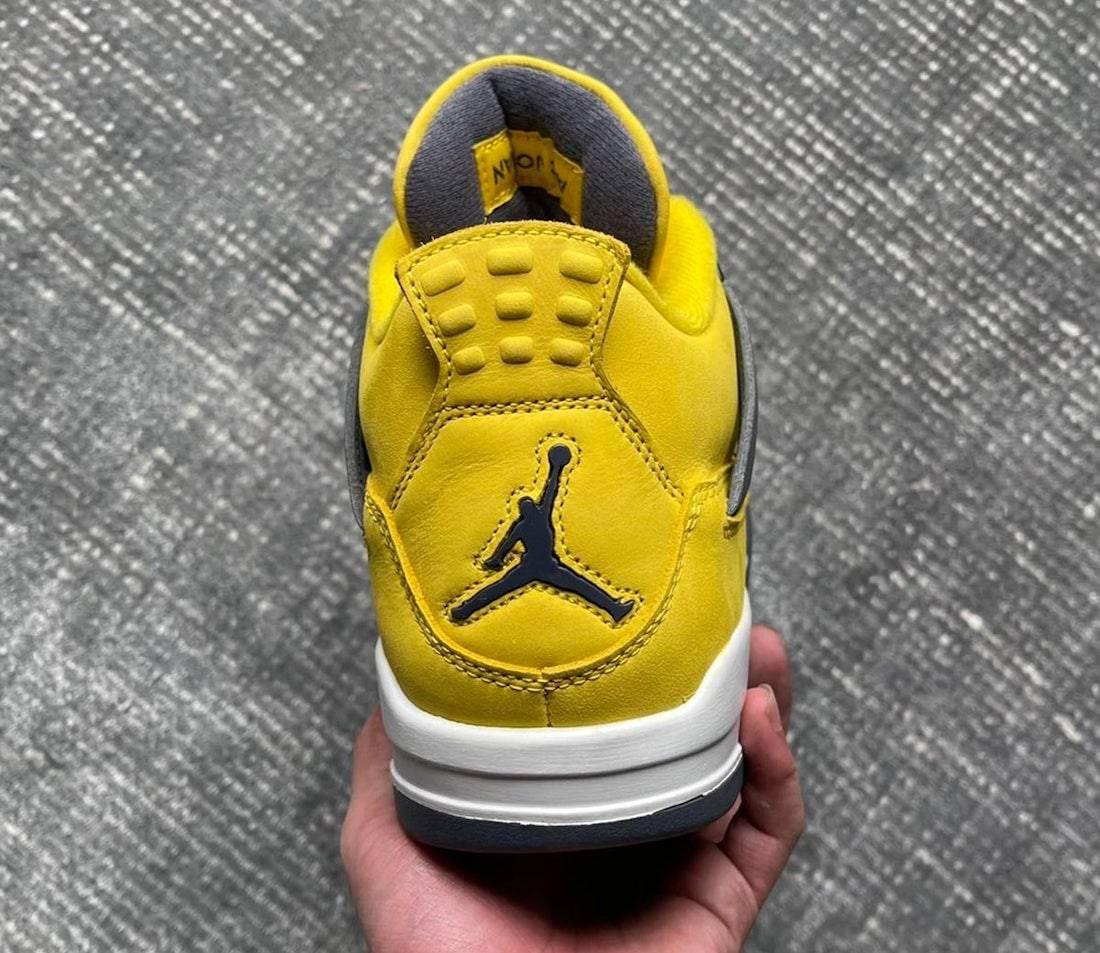 Lightning, Jordan, Air Jordan 4, Air Jordan