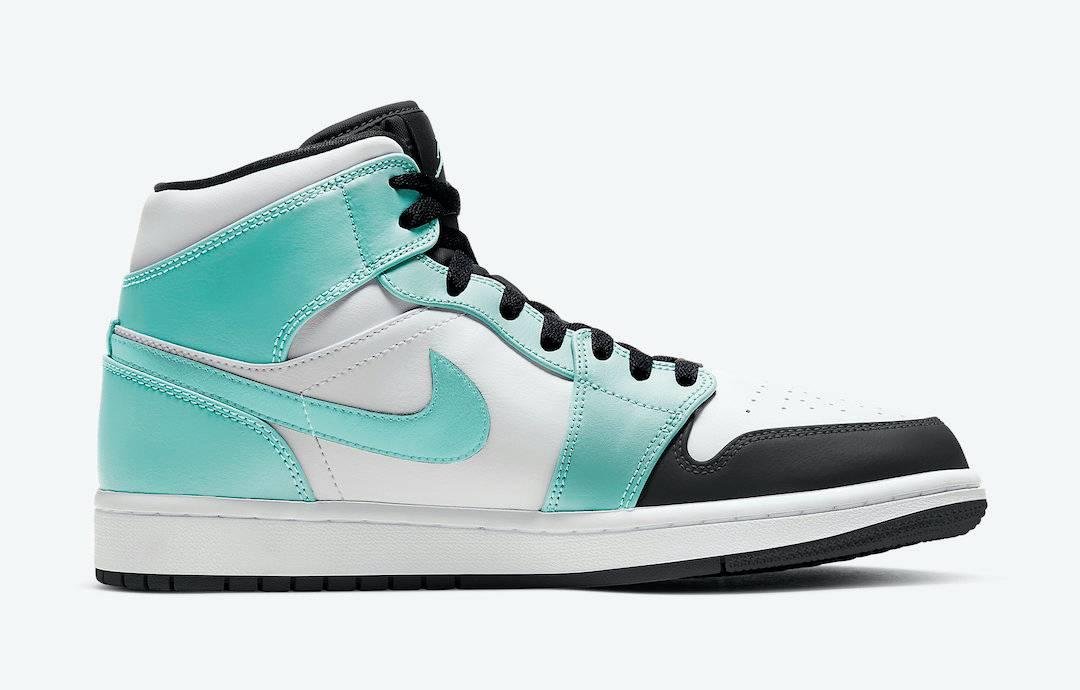 "Swoosh, Jordan Brand, Jordan, Air Jordan 1 Mid ""Tropical Twist"", Air Jordan 1 Mid, Air Jordan 1, Air Jordan"