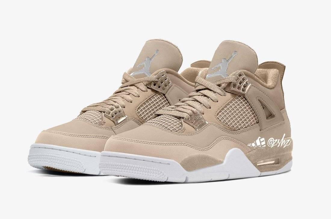 zsneakerheadz, Orange, Off-White, Jumpman, Jordan, Air Jordan 4 Shimmer, Air Jordan 4, Air Jordan