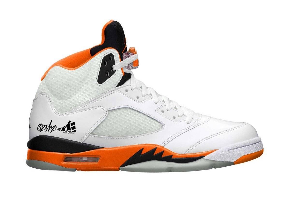 """zsneakerheadz, Orange, Nike Air, Jumpman, Jordan 5, Jordan, Black, Air Jordan 5 """"Shattered Backboard"""", Air Jordan 5, Air Jordan"""