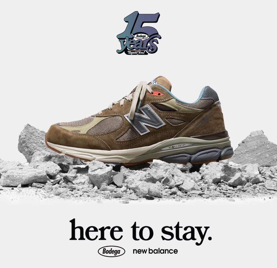 运动鞋, 新百伦990, 新百伦, New Balance, Bodega New Balance 990v3, Bodega