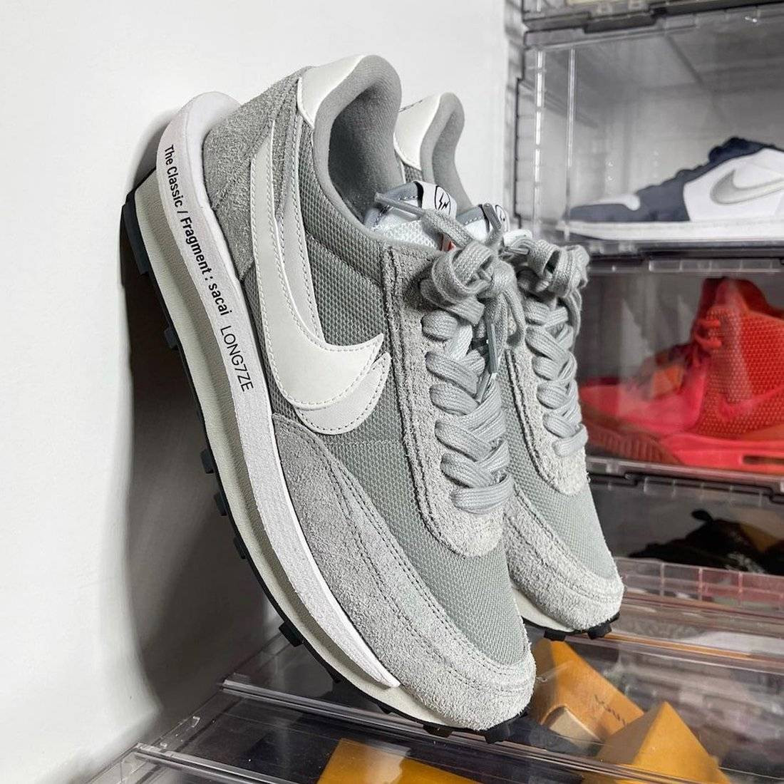 华夫, Swoosh, Sacai x Nike LDWaffle, LDWaffle