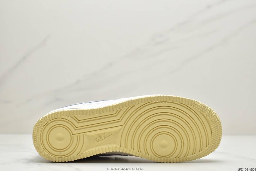 运动板鞋, 空军一号, 板鞋, Nike Air Force1 白绿橙, Nike Air