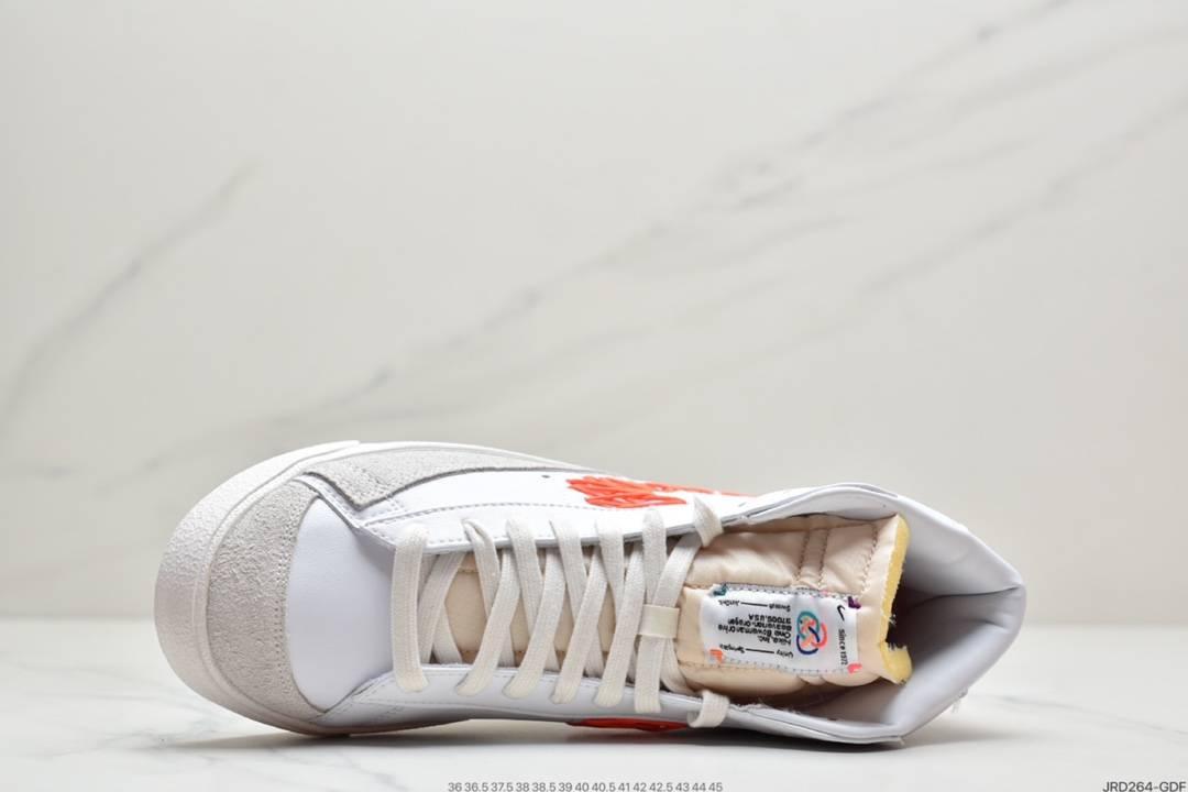高帮, 耐克BLAZER MID '77, 板鞋, 开拓者, 休闲板鞋, Swoosh, NY, BLAZER MID '77 VNTG CNY