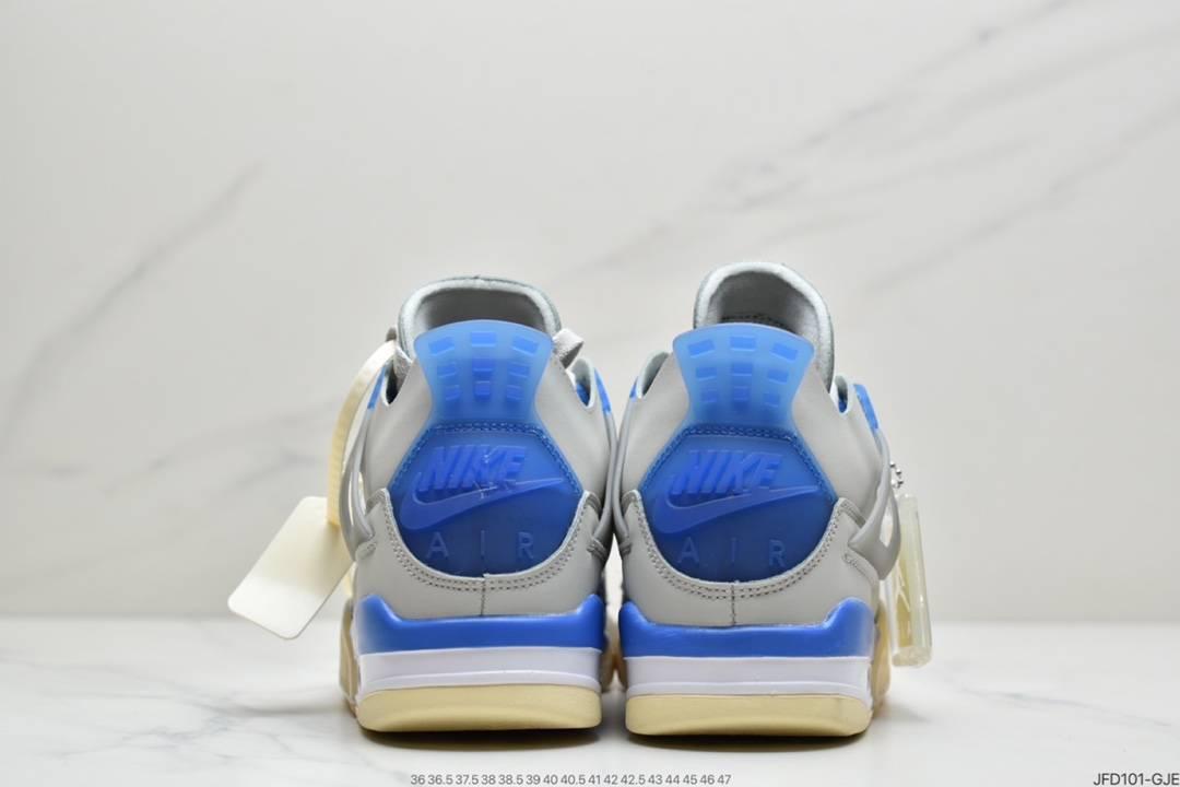 联名, 篮球鞋, 实战篮球鞋, Off-White, Jordan, AJ4, Air Jordan