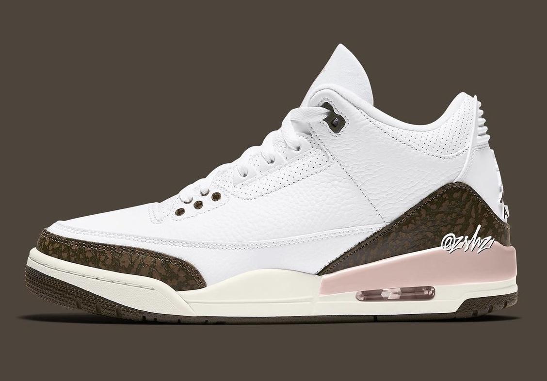 zsneakerheadz, NIKE, Jordan, Dark Mocha, Air Jordan 3, Air Jordan