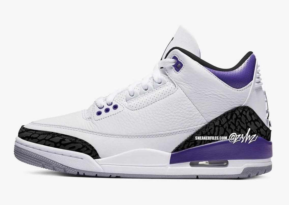 zsneakerheadz, NIKE, Jordan Brand, Jordan, Court Purple, Air Jordan 3, Air Jordan