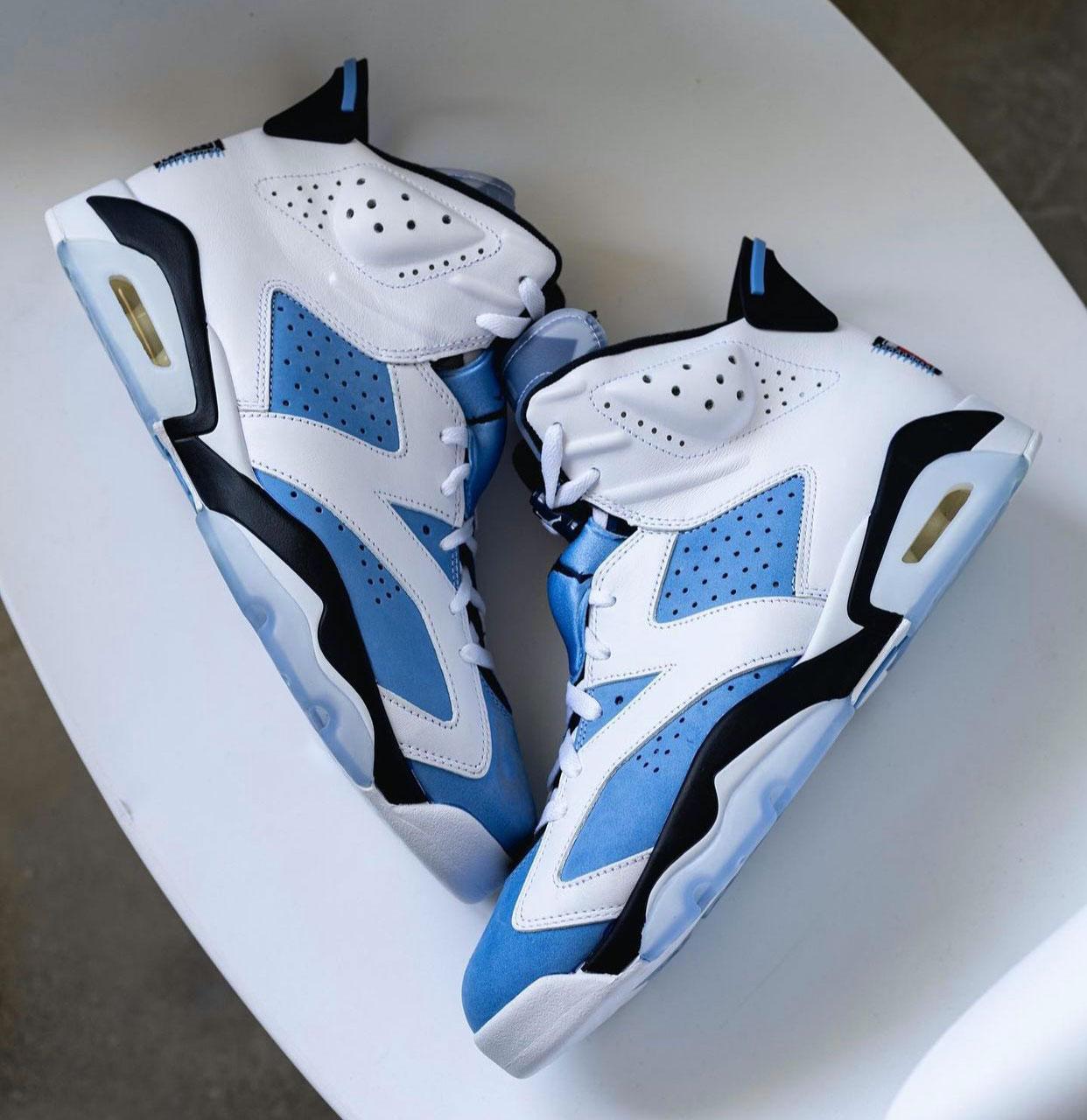 大学蓝, zsneakerheadz, NIKE, Jordan, Air Jordan 6, Air Jordan