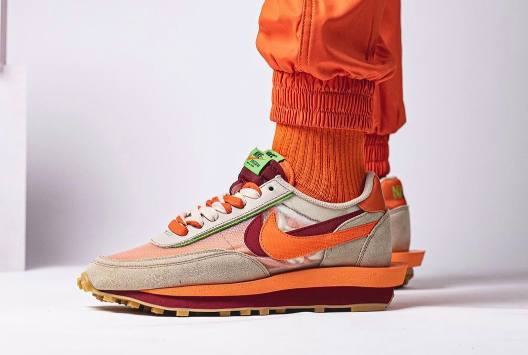死亡之吻, Sacai x Nike LDWaffle, Orange, NIKE, LDWaffle, Kiss of Death