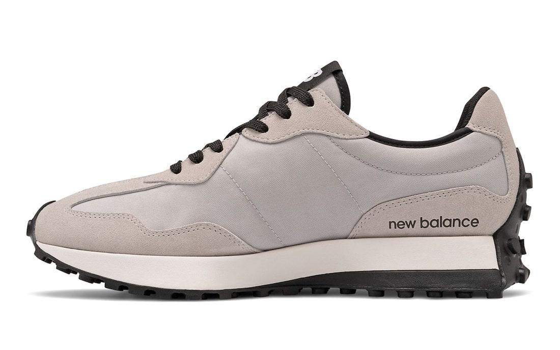 华夫, NEW BALANCE 327, New Balance, MS327, Black