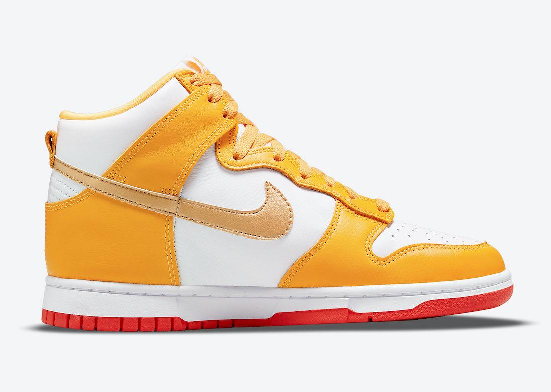 Orange, Nike Dunk High, Nike Dunk, NIKE, Laser Orange, HIGH, Dunk Low, Dunk High, Dunk