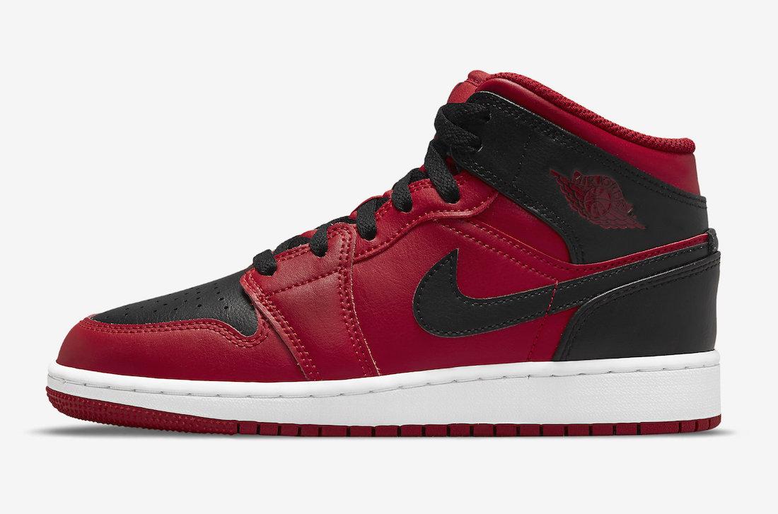 Jumpman, Jordan, Bred, Air Jordan 1 Mid, Air Jordan 1, Air Jordan