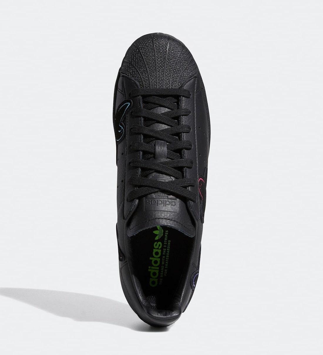 Superstar, Black, adidas Superstar, Adidas