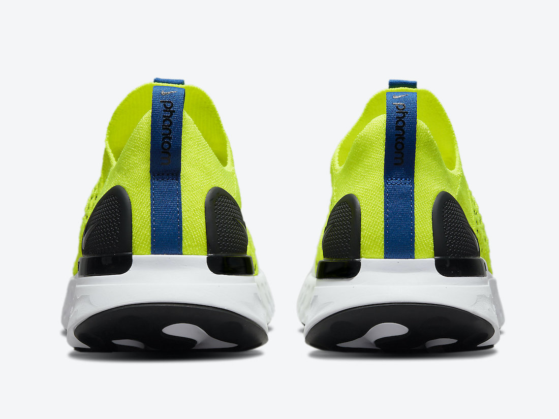 React, Phantom, Nike React, NIKE, Flyknit, Black